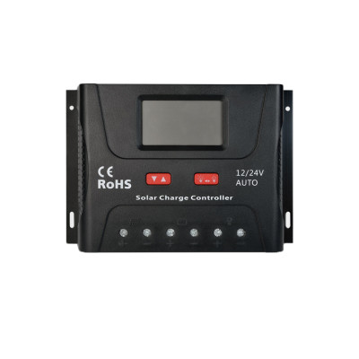SR-HP2450 12/24V 50A PWM Smart Solar Charge Controller