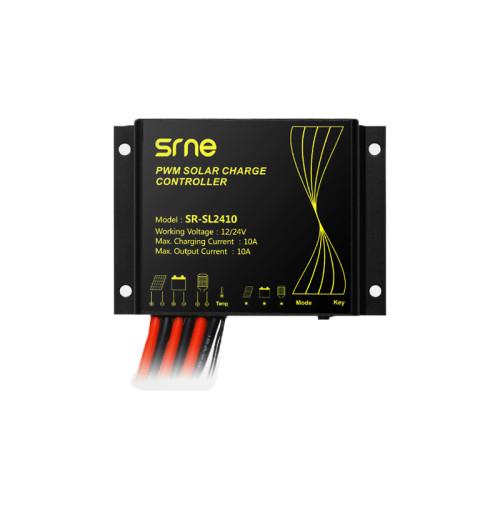 SR-SL2410 12/24V 10A Smart Solar Charge Controller