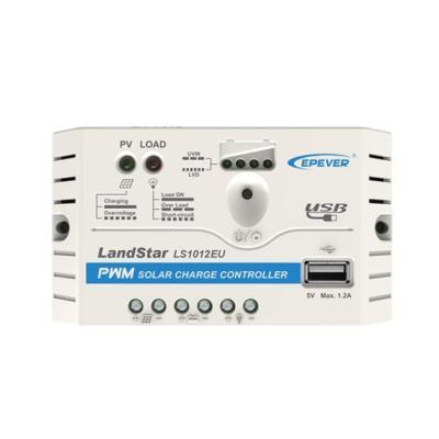 LandStar1012EU 10A 12VDC PWM Solar Charge Controller