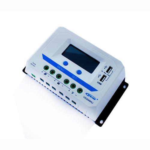 ViewStar3048AU 30A 12/24/36/48VDC PWM Solar Charge Controller