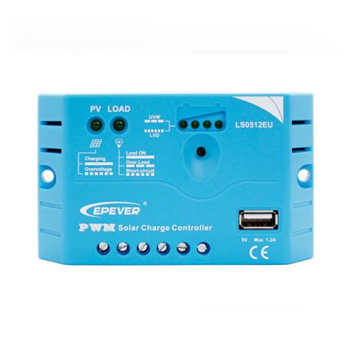 LandStar0512EU 5A 12VDC PWM Solar Charge Controller