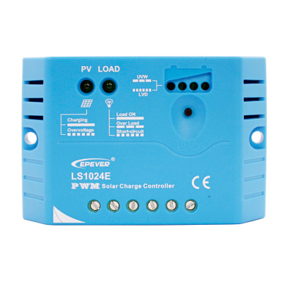 LandStar1024E 10A 12/24VDC PWM Solar Charge Controller