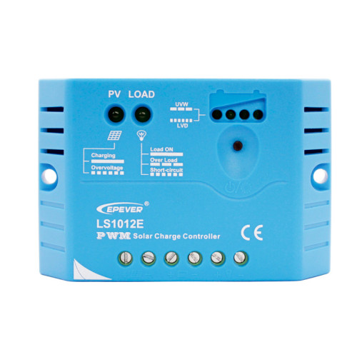 LandStar1012E 10A 12VDC PWM Solar Charge Controller