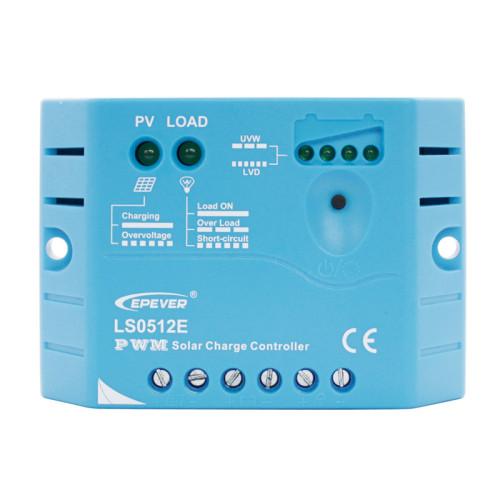 LandStar0512E 5A 12VDC PWM Solar Charge Controller