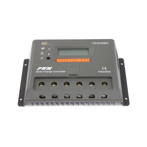 ViewStar3048BN 30A 12/24/36/48VDC PWM Solar Charge Controller