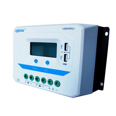 ViewStar6048AU 60A 12/24/36/48VDC PWM Solar Charge Controller