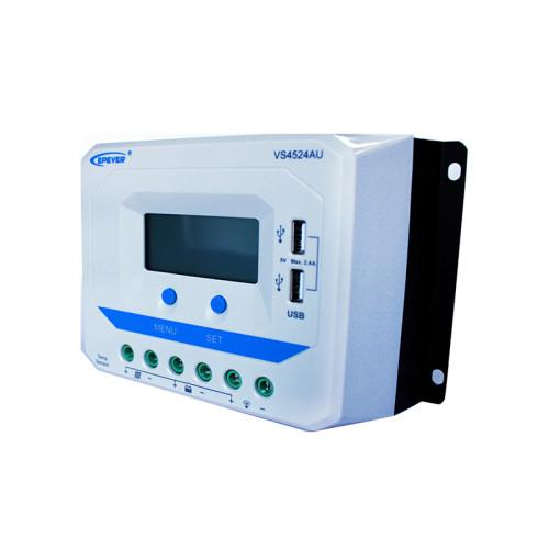 ViewStar4524AU 45A 12/24VDC PWM Solar Charge Controller