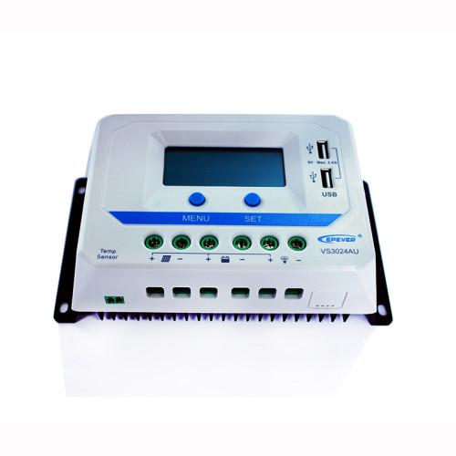 ViewStar3024AU 30A 12/24VDC PWM Solar Charge Controller