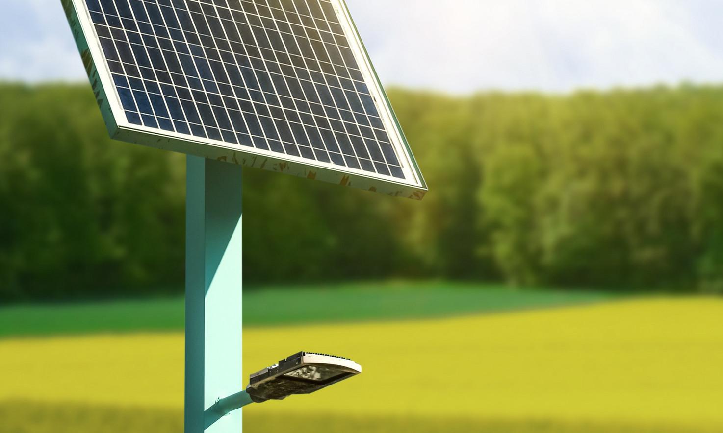 Solar Streetlights System