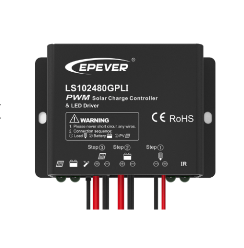 LS2024100GPLI 20A 12/24VDC MPPT Solar Charge Controller