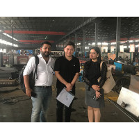 Indian ClientsVisit Our Gabion Machine Factory