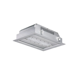 125LM/W 7500LM 60W High Hall LED Canopy Light