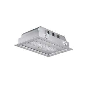 130LM/W 6500LM 50W High Hall LED Canopy Light