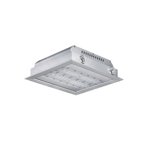 140LM/W 11200LM 80W Warehouse LED Canopy Light