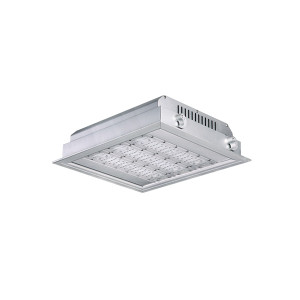 140LM/W 16800LM 120W Gas Station LED Canopy Light