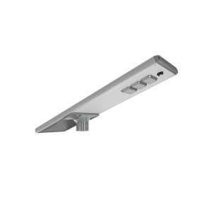 140LM/W 5600LM 40W Areas with no electrical supply LED All In One Solar Street Light