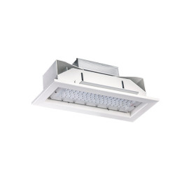 130LM/W 7800LM 60W High Hall LED Canopy Light