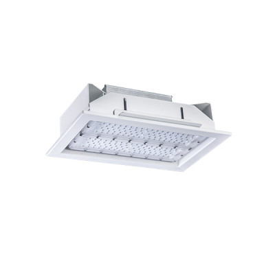 130LM/W 15600LM 120W High Hall LED Canopy Light