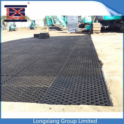 Plastic Grids for Muddy Area