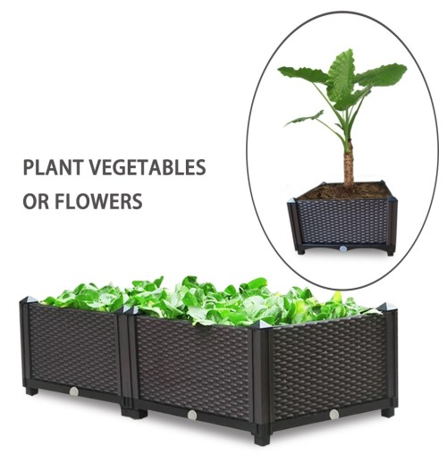 Indoor or outdoor multi-shelf hydroponic system plant grow box