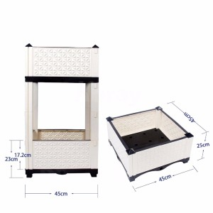 Modern Designed Furniture Cabinet Plant Box Fashion Planter Box