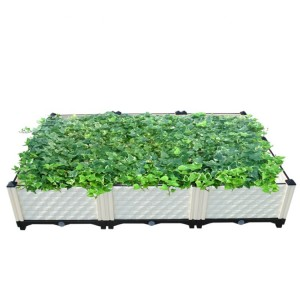 Big garden hydroponic grow system planter box 40x40x22cm