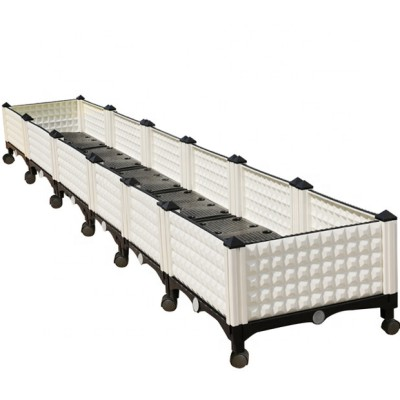 Six joint deepen lengthen rectangular plastic planter