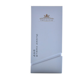 New Design fashion perfume box manufacturers with textured surface and flocking insert