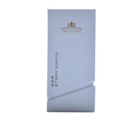 Nouveaux fabricants de boîtes à parfum fashion avec surface texturée et insert de flocage
