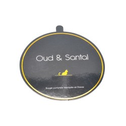 professional  high quality coated paper candle lids and dust cover with golden foil logo