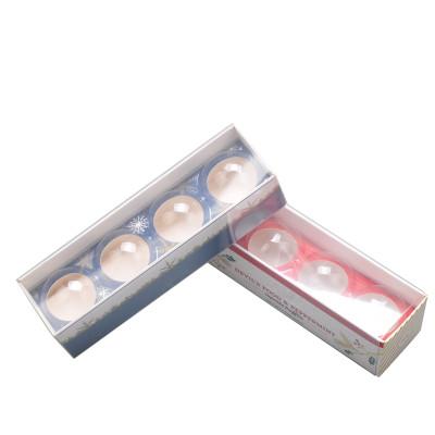 belle impression de boîte de chocolat de conception de carton de papier blanc avec l'inser de papier de catégorie comestible et la fenêtre de PVC
