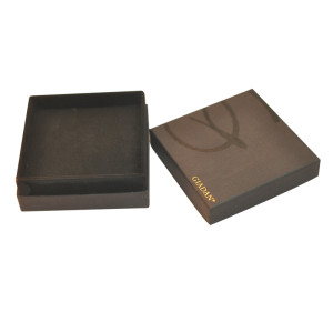 Best Sale custom luxury cardboard jewelry packaging boxes with texture and EVA foam insert