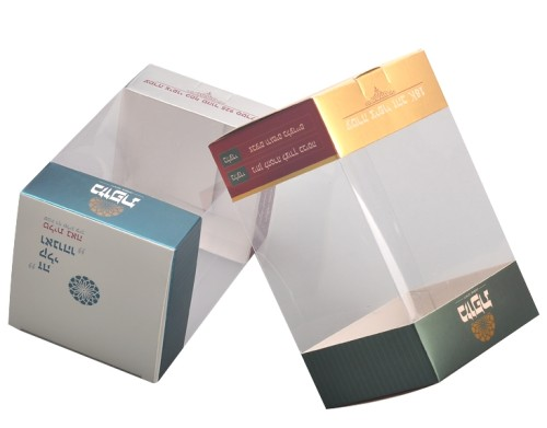 الملونة عالية الجودة المطبوعة صناديق مستحضرات التجميل البلاستيكية للتعبئة كريم