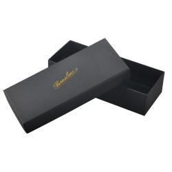 جميلة ساحرة من الورق المقوى الأسود أعلى وأسفل مربع المجوهرات عالية الجودة للتعبئة قلادة
