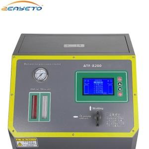 Changing transmission fluid and filtering oil change transmission flush