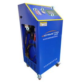 Caja de cambios transmisión de cambiador de aceite inteligente máquina de descarga en caliente para la venta caja de cambios que limpia la máquina