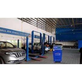 Máquina de descarga automática para la transmisión de automóviles
