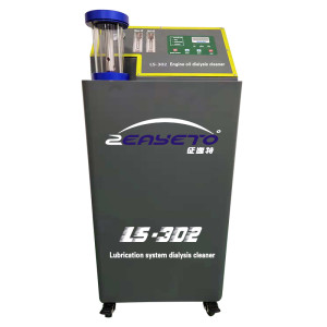 LS-302 Grey  Automotive engine lubrication system cleaning machine
