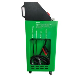 Combustion chamber carbon cleaning machine for petrol cars