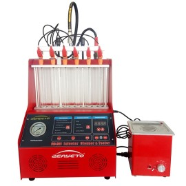 FIC-601 Limpiador y probador de inyectores rojos
