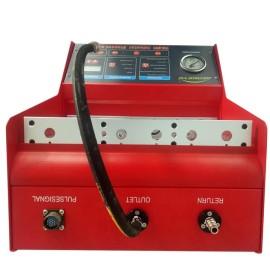 Máquina limpia del inyector de combustible del probador del inyector del carril común
