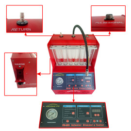 Best Fuel Injector Cleaner With Ultrasonic Cleaning Box Fuel Injector Flush Machine