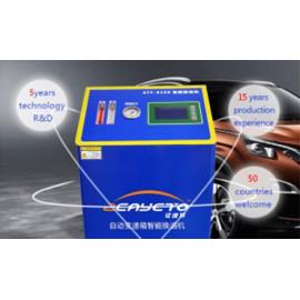 Intercambiador de fluido de transmisión automotriz para cambio de fluido de transmisión