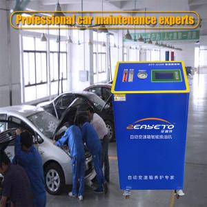 ATF-8100 Blue gearbox intelligent oil changer automotive car wash machine transmission flush machine