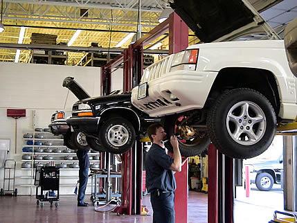 car maintenance shop
