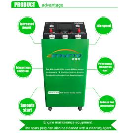 Máquina de limpieza de carbón catalítico para uso de venta para automóviles de gasolina