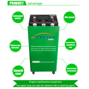 Catalytic carbon cleaning machine for sale use for gasoline cars