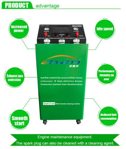 Машина для очистки от каталитического углерода для использования в бензиновых автомобилях