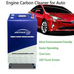Máquina de eliminación de carbono Zeayeto HHO-1500 Motor para todos los vehículos