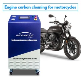 Máquina limpiadora de carbón motor para motocicletas.